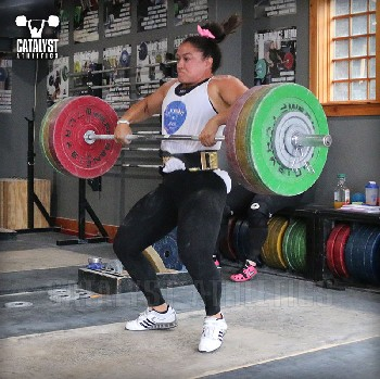 Laura clean - Olympic Weightlifting, strength, conditioning, fitness, nutrition - Catalyst Athletics