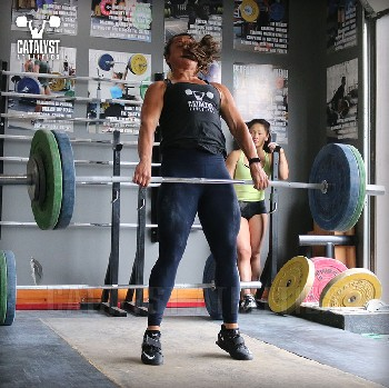 Steph clean - Olympic Weightlifting, strength, conditioning, fitness, nutrition - Catalyst Athletics