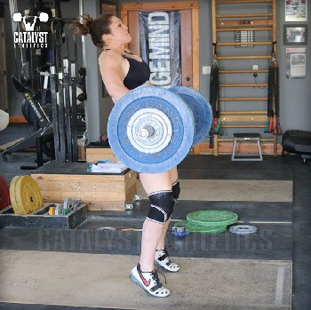Erin clean - Olympic Weightlifting, strength, conditioning, fitness, nutrition - Catalyst Athletics